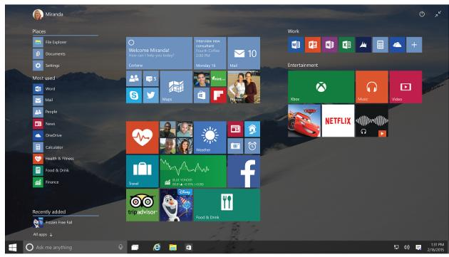 Windows 10 in arrivo in Italia questa Estate con Spartan, Xbox, Ologrammi e Cortana