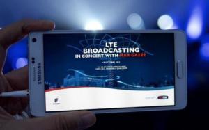 Tim: concerto Max Gazze' in streaming HD su LTE Broadcast