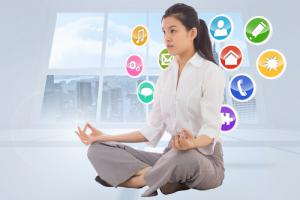 Come praticare la meditazione online