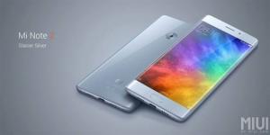 Xiaomi Mi Note 2 ufficiale con display OLED curvo e flessibile