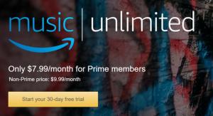 Amazon Music Unlimited, sfida ad Apple e Spotify