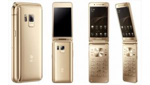 Samsung lancia SM-W2017, un telefono Android a conchiglia di fascia alta