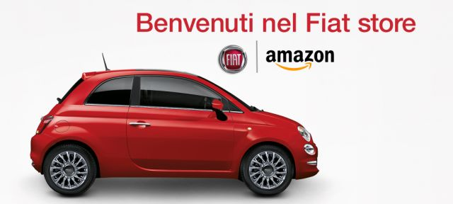 Amazon: Fiat 500 scontate in vendita su Amazon