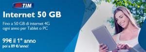 TIM Internet 50 GB e Tim Internet 100 GB