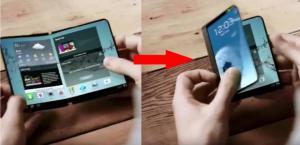 Samsung, nel 2017 arriva lo smartphone pieghevole