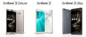 Asus ZenFone 3 Base, Deluxe e Ultra annunciati ufficialmente al Computex 2016