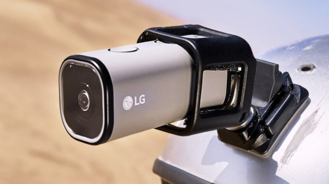 Lg Action Cam LTE, la nuova webcam ultracompatta 4G