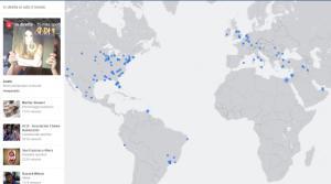Facebook Live Maps, Facebook attiva la mappa dei Video in diretta