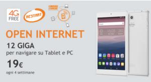 Wind Open Internet: 12 Giga per navigare da Pc e Tablet Pc