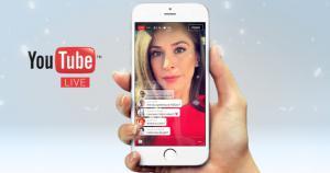YouTube annuncia video in diretta da smartphone per tutti