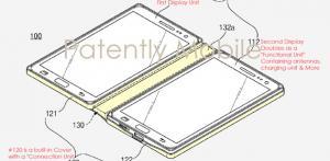 Samsung brevetta uno smartphone con doppio display