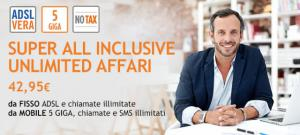 Wind Business: Super All Inclusive Unlimited Affari, fisso e cellulare insieme