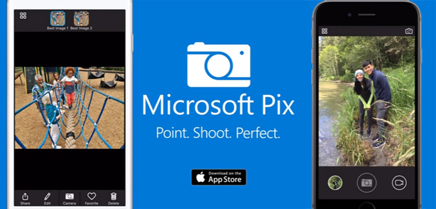 Microsoft Pix offre le foto intelligenti su iPhone