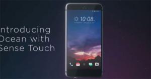 HTC, stanno arrivando 3 nuovi smartphone 'Ocean' con Sense Touch