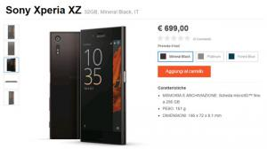 Sony Xperia XZ in preordine con cuffie wireless in regalo