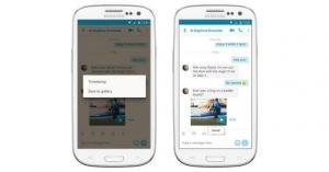 Skype per Android consente l'accesso rapido da un bot nelle chat di gruppo
