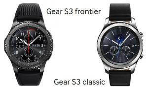 Samsung, Gear S3 Classic e Frontier arrivano entro novembre
