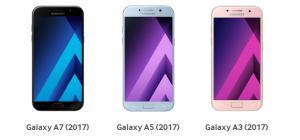 Samsung Galaxy A3, A5, A7 (2017) in vendita dal 3 febbraio. Ecco Foto, Specifiche e Prezzi