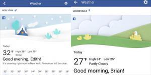 Facebook lancia strumento di previsioni Meteo