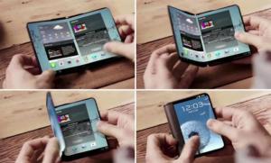 Samsung potrebbe presentare uno smartphone pieghevole al MWC 2017