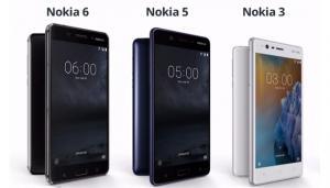 HMD Global presenta al MWC 2017 i telefoni Nokia 6, Nokia 5 e Nokia 3. Ecco le caratteristiche