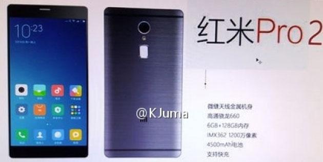 Xiaomi Redmi Pro 2: prime immagini e specifiche tecniche
