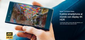 Sony, presentato al MWC 2017 Xperia XZ Premium.