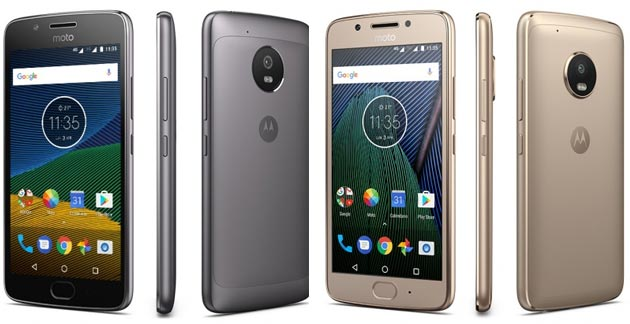 Moto G5 e Moto G5 Plus annunciati da Lenovo al Mobile World Congress