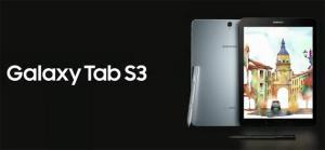 Samsung Galaxy Tab S3 presentato da Samsung