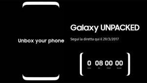 Galaxy S8: 29 marzo alle ore 17.00 Presentazione in Diretta Live Streaming