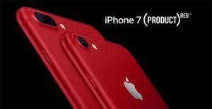 Apple lancia iPhone 7 di colore rosso per sostenere Global Fund contro l'HIV