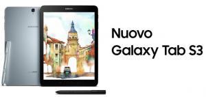 Samsung Galaxy Tab S3 disponibile in Italia il modello 4G