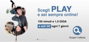 Tre: Tariffa Play da 2 euro a settimana e Super Internet Ten Limited Edition