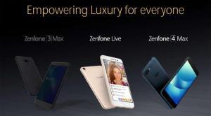 Asus ZenFone 4, in arrivo a maggio tre nuovi telefoni