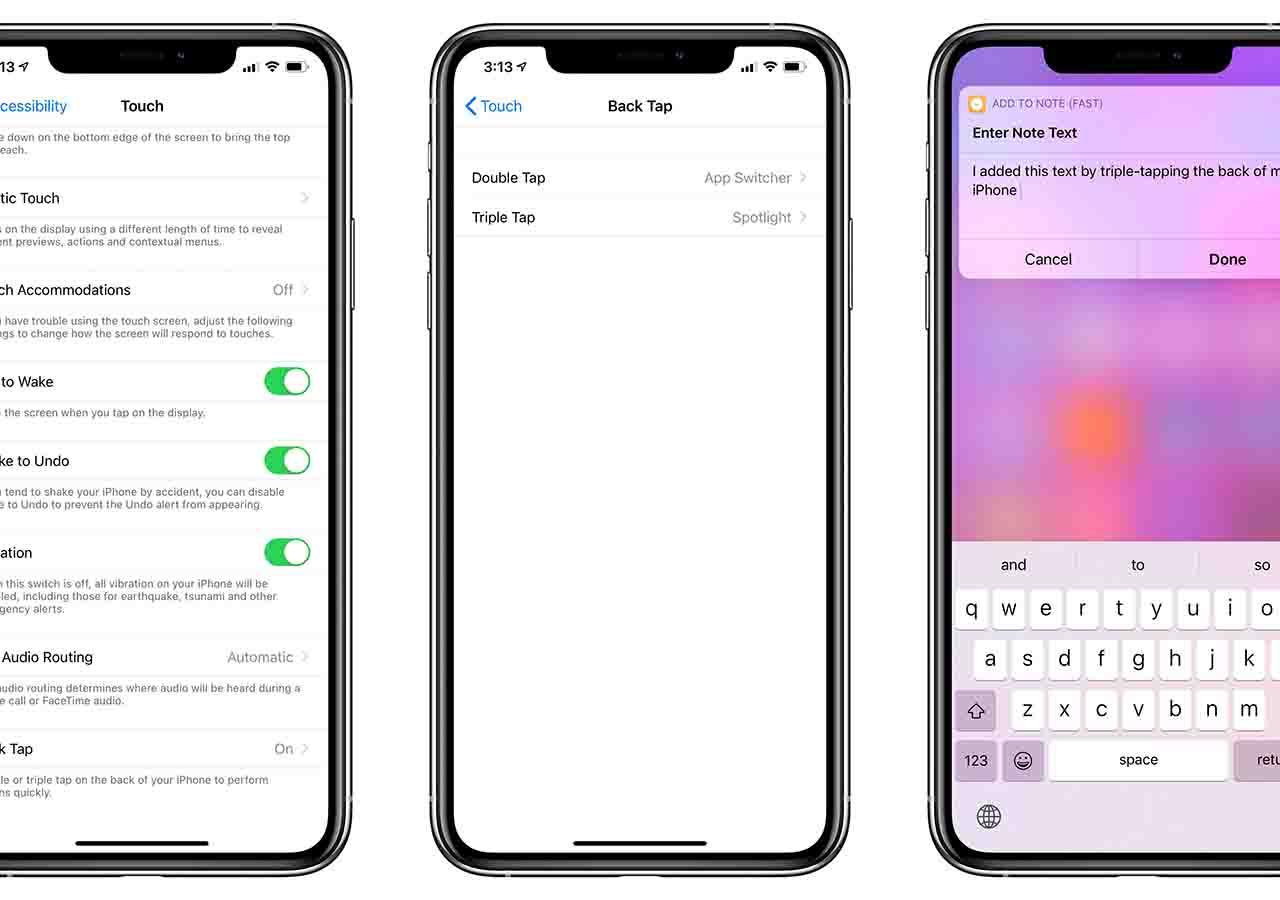 iOS 14 , le nuove funzioni con il doppio tap posteriore (via Twitter)