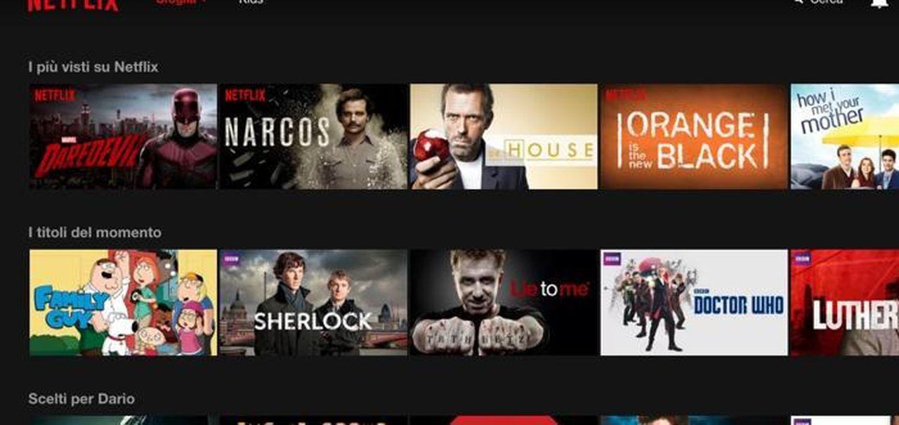 Netflix periodo prova