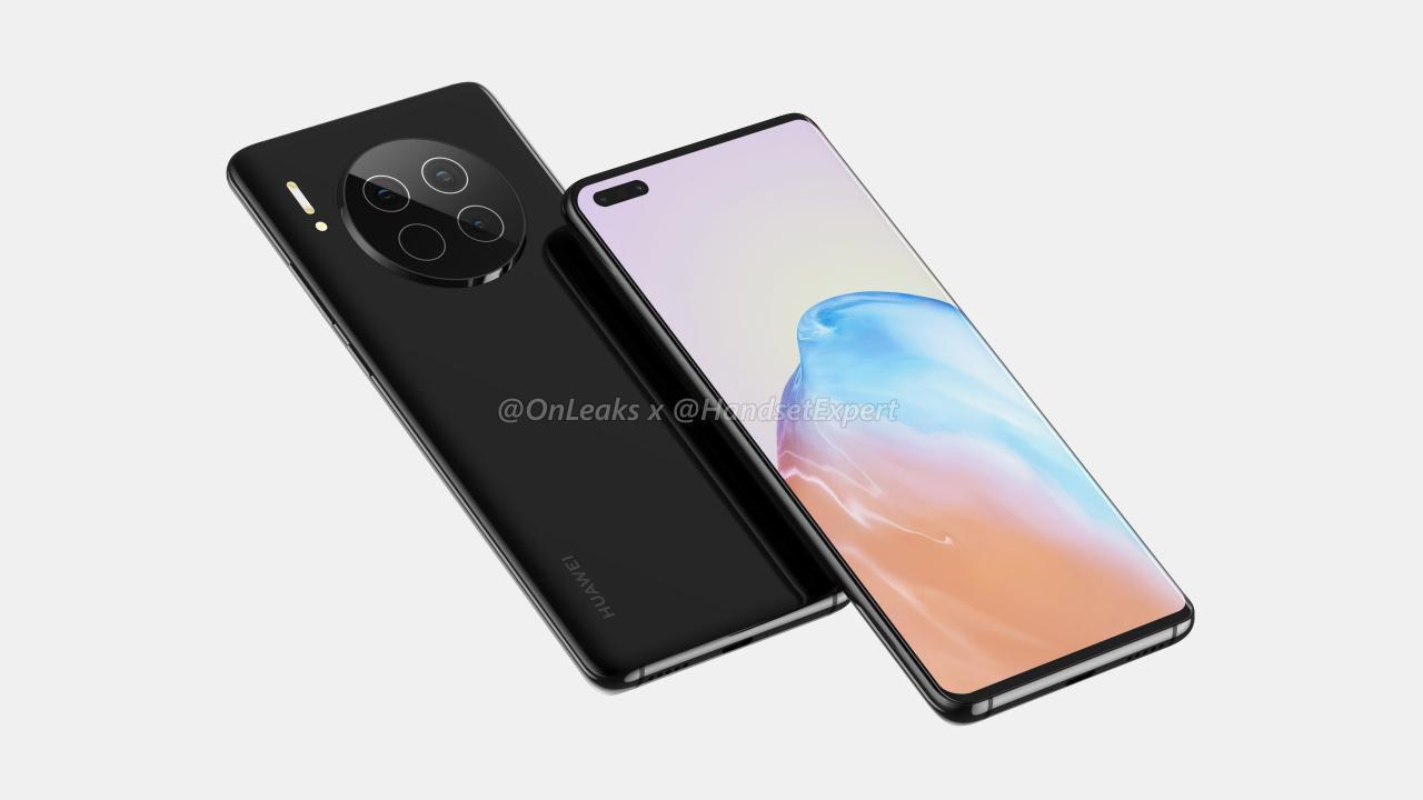 Huawei mate 40 Pro (onleaks)