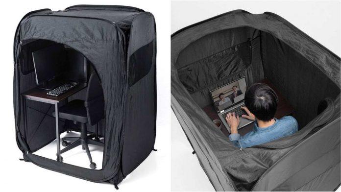 La tenda per smart working giapponese