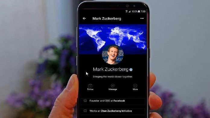 facebook dark mode per Android