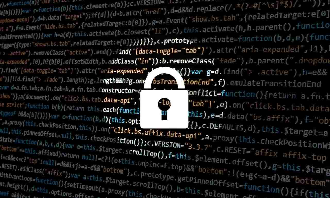 Schermata hacker Cybersecurity USA violata
