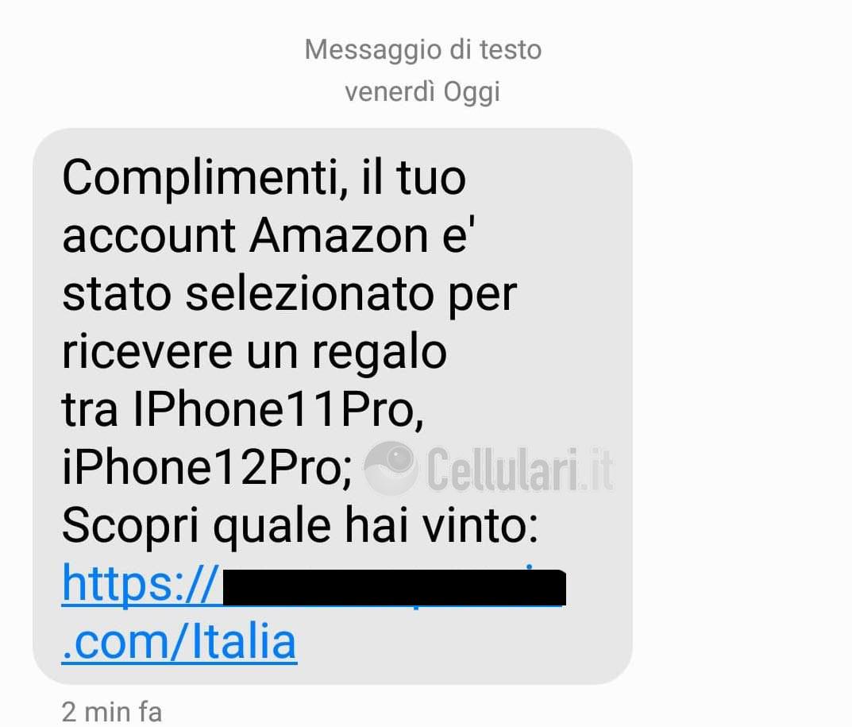 truffa online amazon iphone