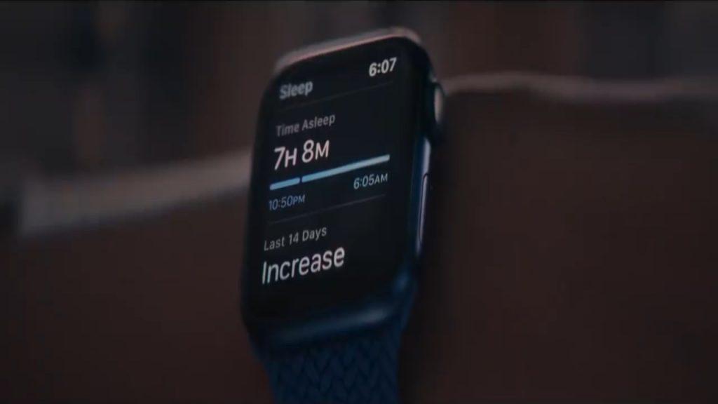 Apple Watch blue