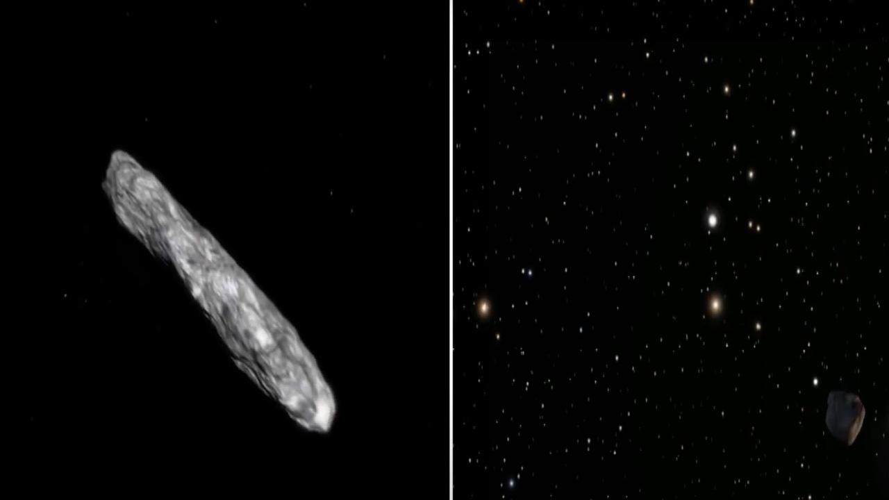 Astronave Aliena Oumuamua