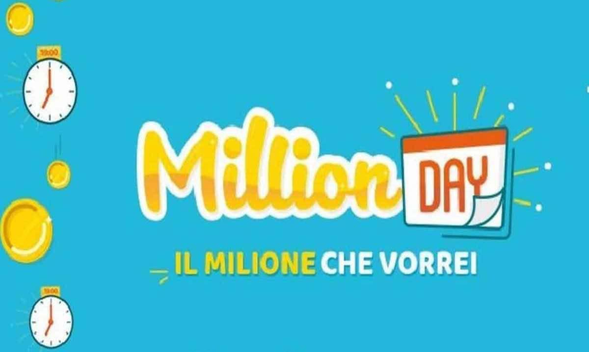 Million Day oggi 31 gennaio 2021 (Lottomatica)