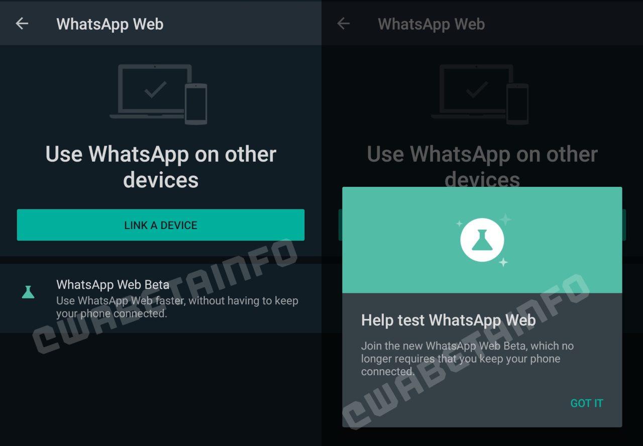 WhatsApp beta from WABetaInfo