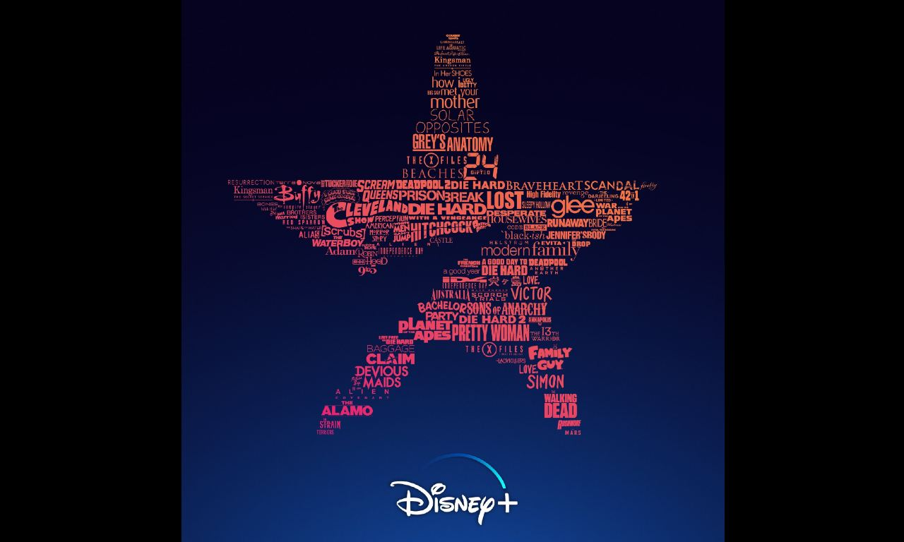 DIsney catalogo Star