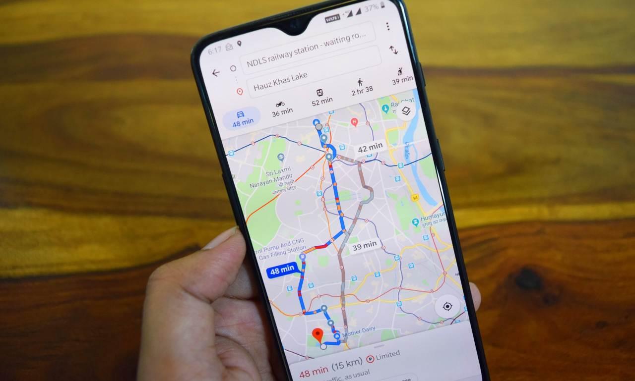 Google Maps super dettagliato