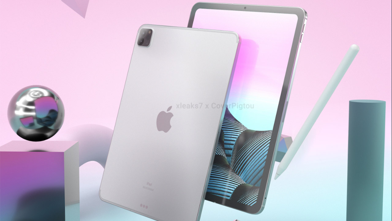 iPad Pro 2021 design