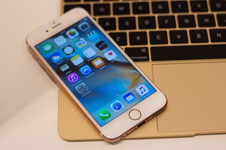 iPhone 13 lettore di impronte sotto al display
