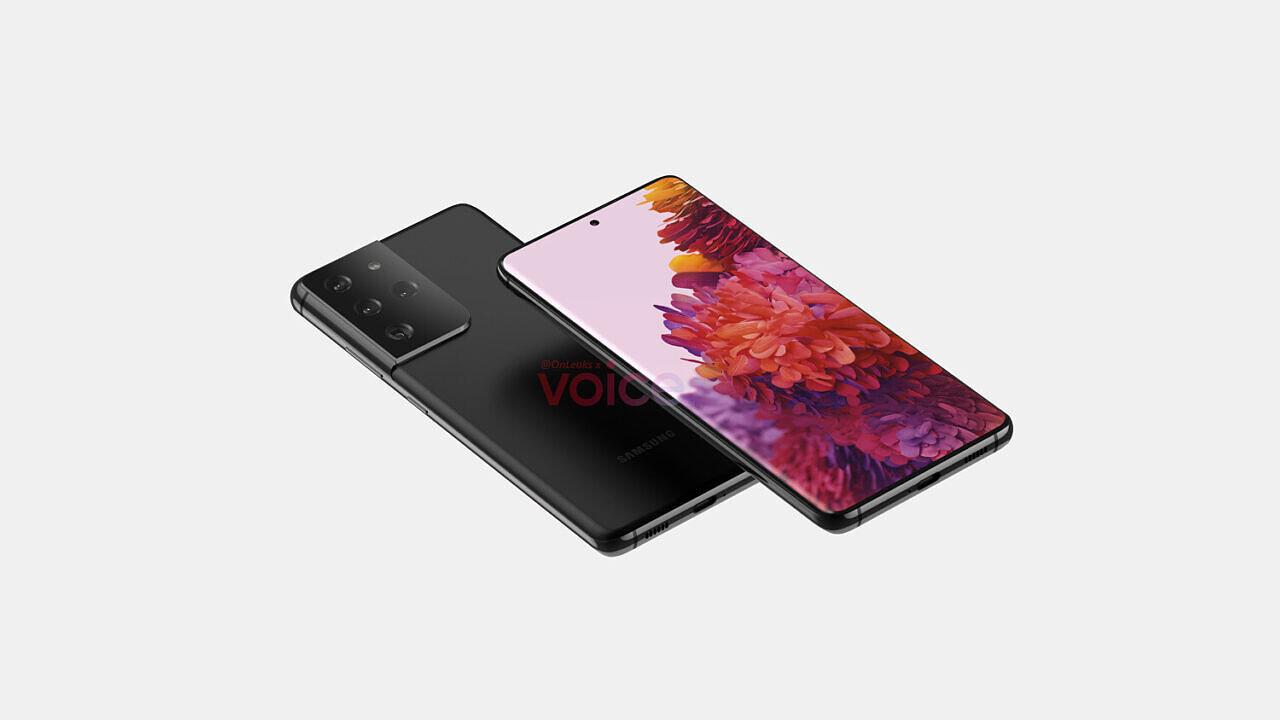 Galaxy S21 confezione di vendita